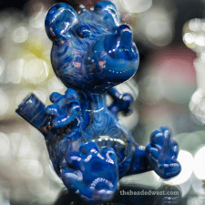 blue bear glass waterpipe
