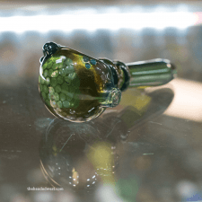 colored glass smoking pipe