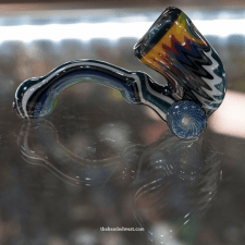 multicolored glass pipe