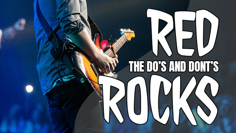 The Do's and Dont's Of What You Can Bring To Red Rocks