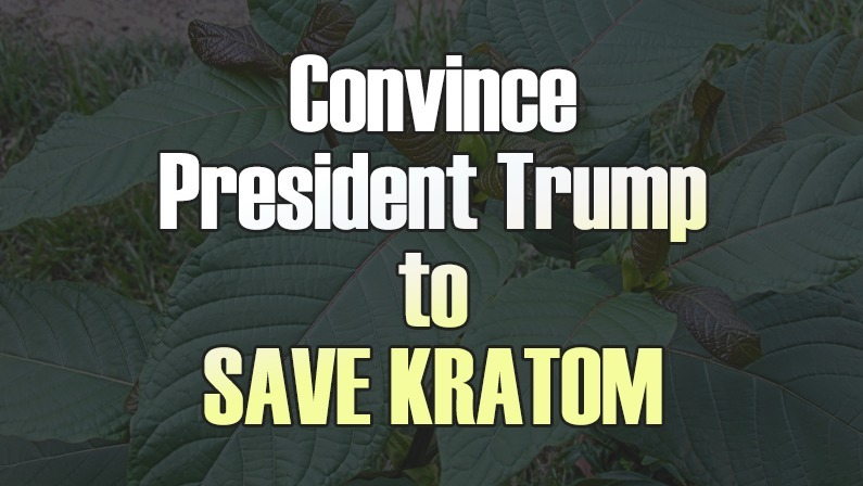 Help Us Convince President Trump to Save Kratom