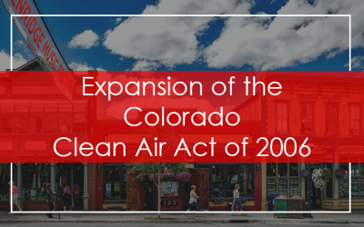 Expansion of the Colorado Clean Indoor Air Act of 2006
